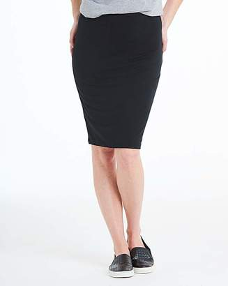 Capsule Stretch Jersey Mini Tube Skirt