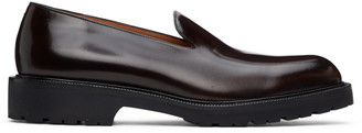 Dries Van Noten Brown Patent Leather Loafers