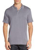 Robert Barakett Georgia Cotton Polo Shirt