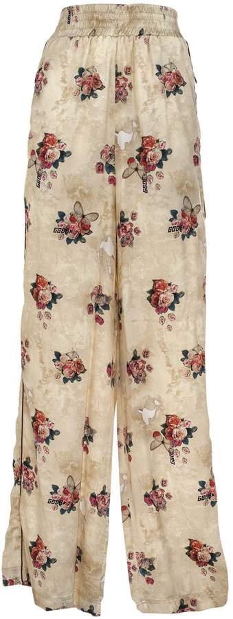 Golden Goose Floral Trousers