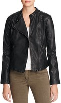 Vero Moda Miley Faux Leather Moto Jacket