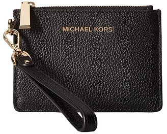 MICHAEL Michael Kors Mercer Small Coin Purse (Black) Coin Purse