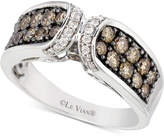 LeVian Le Vian Chocolatier Diamond Ring (9/10 ct. t.w.) in 14k White Gold