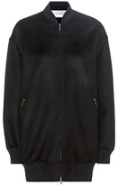 Valentino Wool And Cashmere Bomber Jacket