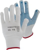Yoko Uniex Blue Dot Pick-and-Go Glove With Grip