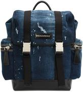 DSQUARED2 'Donald' backpack - men - Cotton - One Size