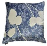 Aviva Stanoff Velvet Lemon Leaf Silk Dupioni Pillow