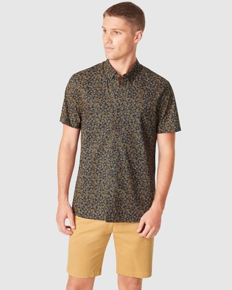 French Connection Men's Shirts & Polos - Ditsy Floral Regular Fit Shirt - Size One Size, S at The Iconic