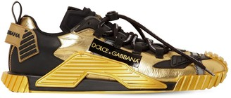 Dolce & Gabbana Ns1 Leather & Nylon Sneakers