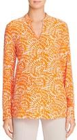 St. Emile Anouk Silk Printed Shirt