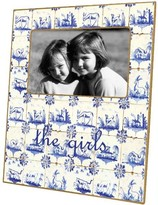 The Well Appointed House Delft Tiles Decoupage Photo Frame-Can Be Personalized