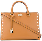 MICHAEL Michael Kors studded tote bag - women - Leather - One Size