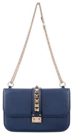 Valentino Rockstud Lock Flap Shoulder Bag