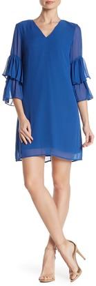 Cece By Cynthia Steffe Carmen Tiered Sleeve Dress