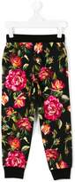 Dolce & Gabbana rose print leggings