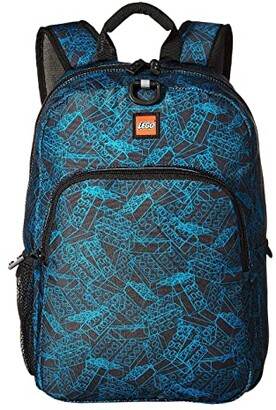 Lego Blueprint Heritage Classic Backpack (Black) Backpack Bags