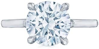 Kwiat Platinum Diamond Solitaire Ring