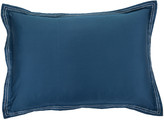 Trussardi Stitch Bed Sheet & Pillowcase Set - Blue