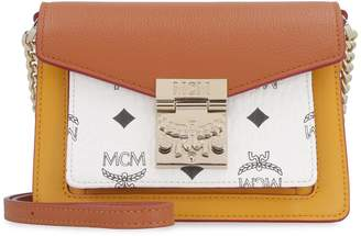 MCM Patricia Leather Crossbody Bag