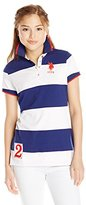 U.S. Polo Assn. U.S. Polo Shirt Assn. Juniors' Rugby-Stripe Polo Shirt