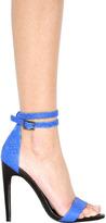 Tibi Amber Heel in Cobalt