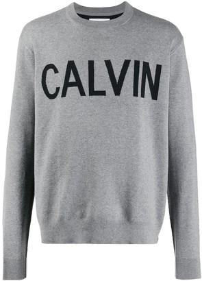 Calvin Klein Jeans knitted logo sweatshirt