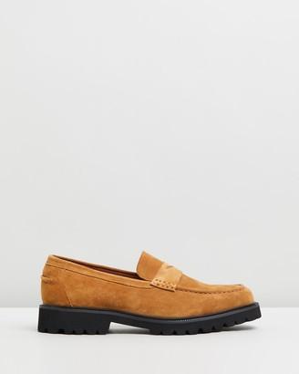 Double Oak Mills Busan Suede Loafers