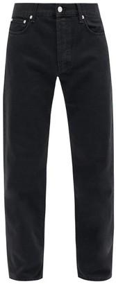 Séfr Straight-leg Jeans - Mens - Black