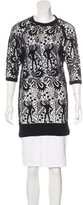 Isabel Marant Embroidered Open Knit Top