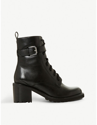 Dune Planton leather ankle boots