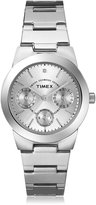 Timex Women's Dress T2N972 Stainless-Steel Quartz Watch