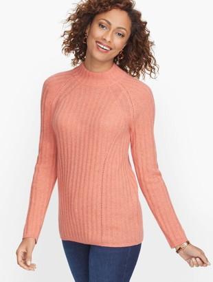 Talbots Cashmere Mockneck Sweater