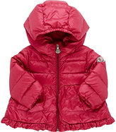 Moncler Hooded Puffer Coat-PURPLE