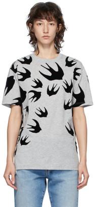 McQ Grey Swallow T-Shirt