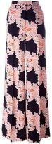 MSGM floral print palazzo pants