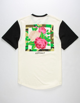 Asphalt Yacht Club Flower Hive Mens T-Shirt