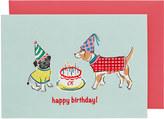 Cath Kidston Dogs Greetings Card