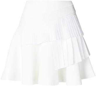 Victoria Victoria Beckham Ruffled Mini Skirt