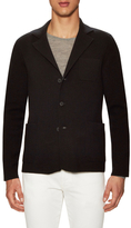 Prada Wool Notch Lapel Blazer