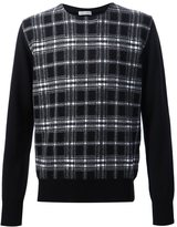 Tomas Maier checked sweater