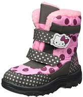 Hello Kitty Girls' Hk Roila Snow Boots grey Size: 10UK Child