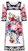 Dolce & Gabbana Floral-printed silk dress