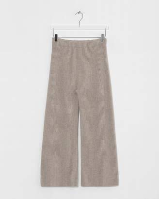 Big Chill Arch The Brown Rib Cashmere Lounge Pant