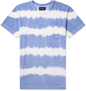 Howlin' Fons Tie-Dyed Cotton-Blend Terry T-Shirt