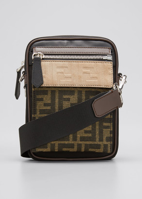 Fendi Men's FF Crossbody Camera Bag