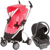 Quinny Zapp Xtra Mico AP Travel System - Pink Precious - Devoted Black
