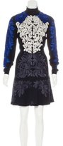 Stella McCartney Embroidered Mock Neck Dress