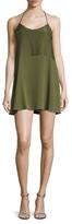 Anine Bing Combined Slip Dress