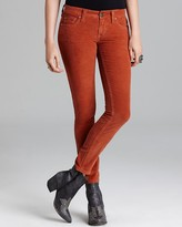 Free People Jeans - Super Skinny Stretch Cord in Sienna