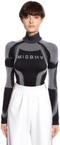 Misbhv Logo Intarsia Jersey Top